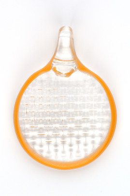 Reverse Embossed Pendant Clear